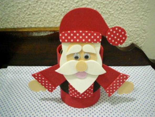 Dicas para fazer Papai Noel em EVA 011