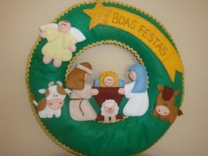 Guirlanda de Natal artesanal 001