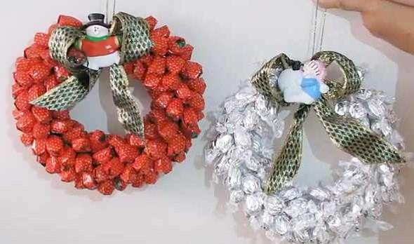 Guirlanda de Natal artesanal 002
