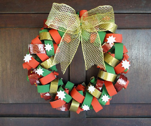Guirlanda de Natal artesanal 010