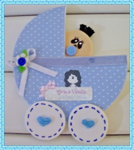 Lembrancinha de maternidade em EVA 001