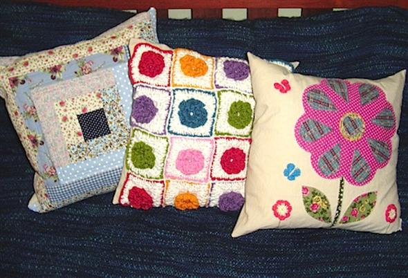 Almofada de patchwork 002