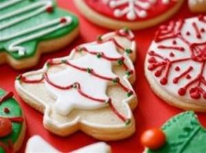 Biscoitos decorados para o natal 002