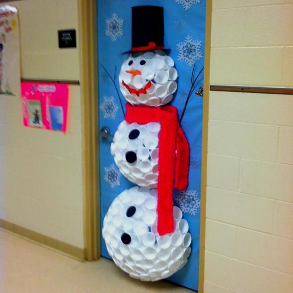 Como fazer boneco de neve 003