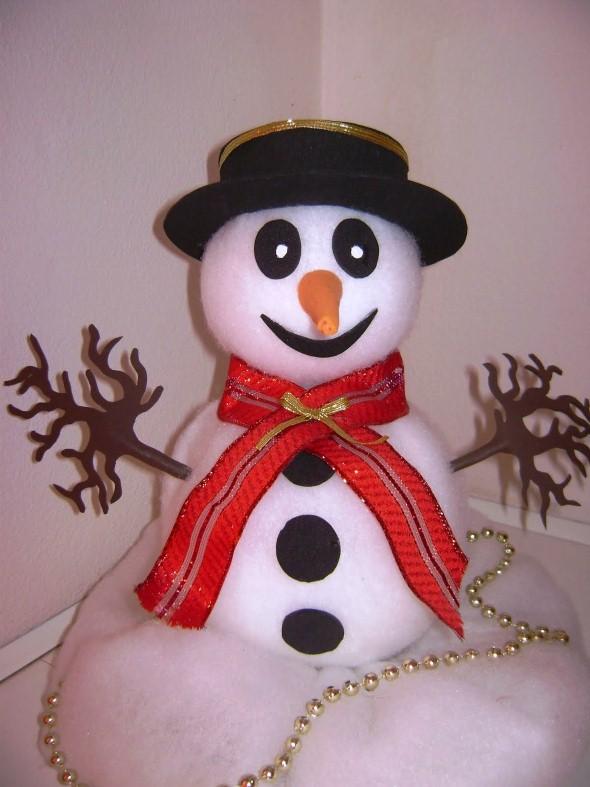Como fazer boneco de neve 005