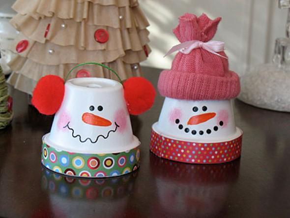 Como fazer boneco de neve 009
