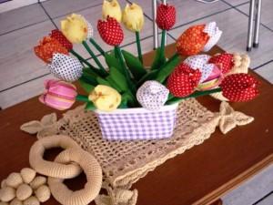Flor de tecido - Modelos e como fazer 001