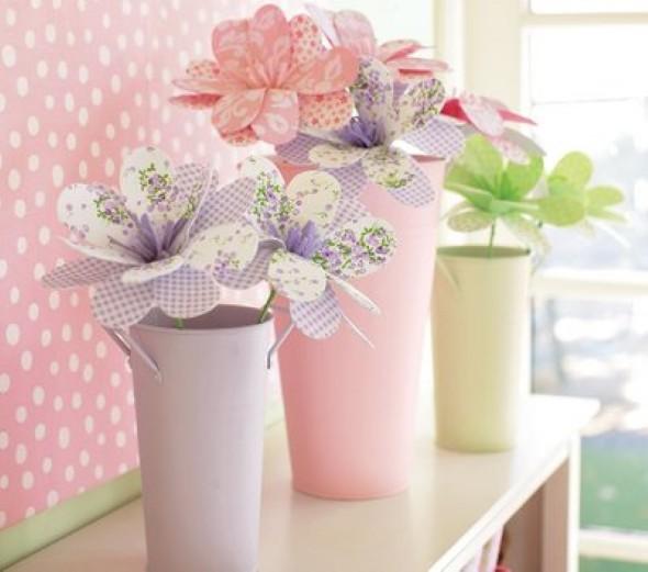 Flor de tecido - Modelos e como fazer 009