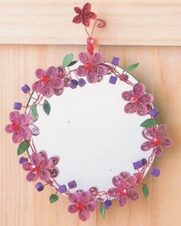 Flores artesanais de quilling 008