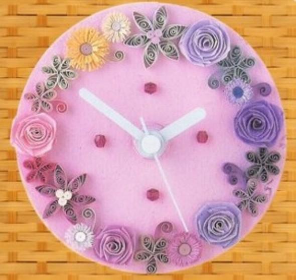 Flores artesanais de quilling 009