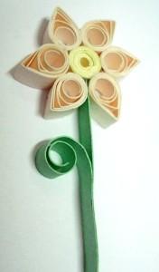 Flores artesanais de quilling 01