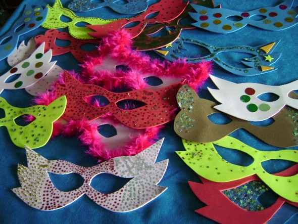 Máscara de carnaval em EVA 008
