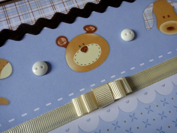 Álbum de fotos do bebê em Scrapbook 002