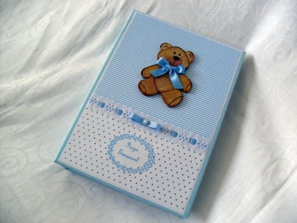 Álbum de fotos do bebê em Scrapbook 004