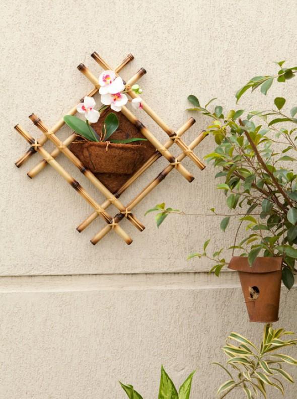 artesanato de bambu para jardim:Artesanato De Bambu