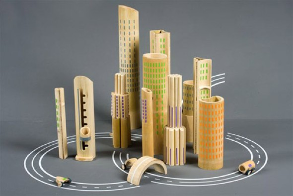 Artesanato com bambu 012