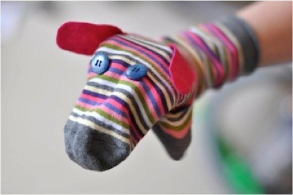 Artesanato com meias 012