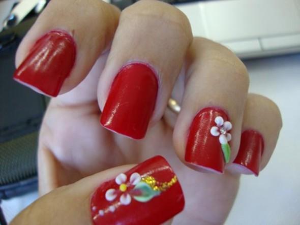 Como fazer unhas decoradas 012