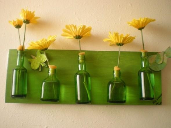 Modelos de decoração feita com material reciclado