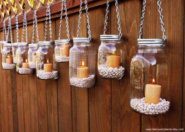 Decoraç u00e3o feita com material reciclado -> Decoração De Halloween Com Materiais Reciclados