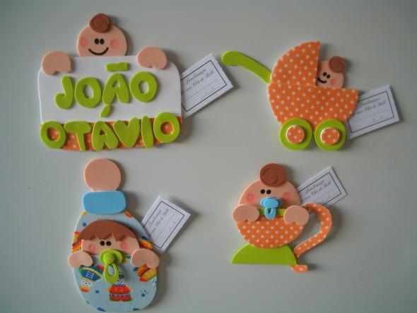 Idéias criativas de artesanato em EVA 014