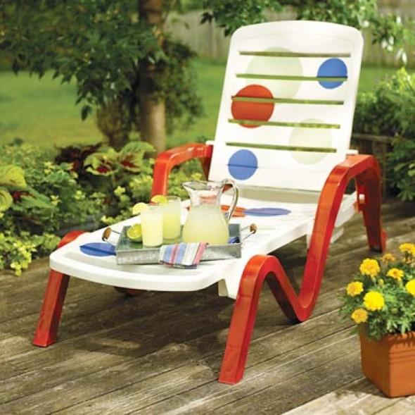 Personalizar cadeiras de plástico antigas 003