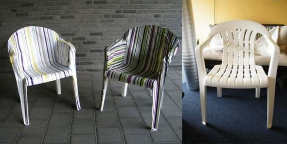 Personalizar cadeiras de plástico antigas 009