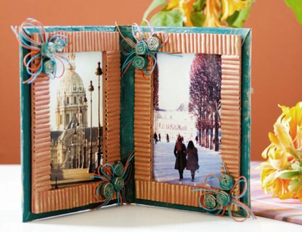 Porta retrato artesanal 004
