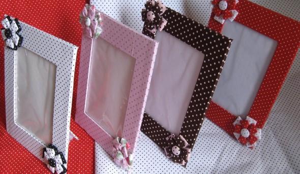Porta retrato artesanal 010