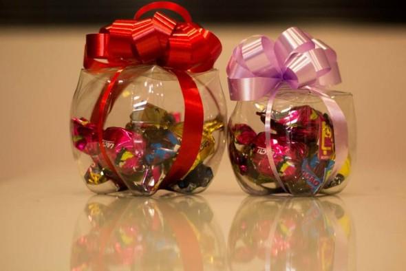 Pote artesanal de garrafa PET 012