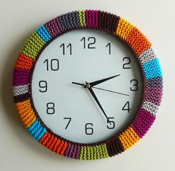 Como fazer rel gio artesanal dicas e modelos for Relojes de cocina modernos