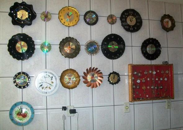Como fazer relógio artesanal 006