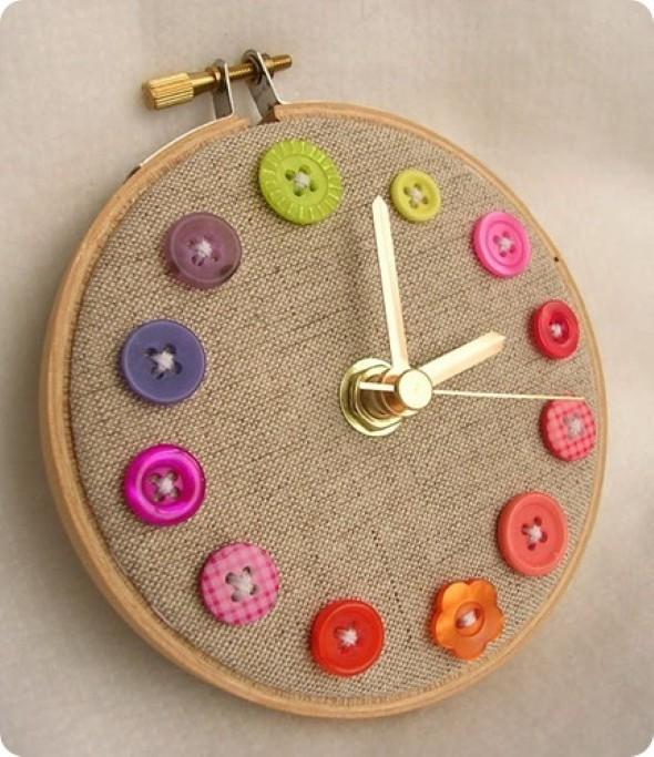 Como fazer relógio artesanal 008