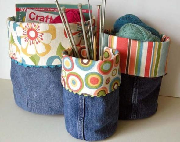 Artesanato com jeans usado 003