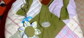 Artesanato com retalhos de tecido