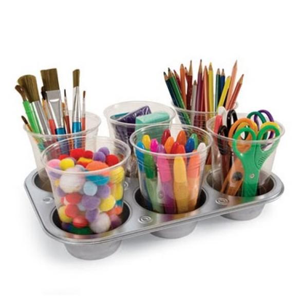 Porta canetas de material reciclado 010