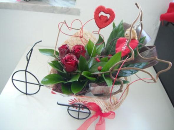 Arranjos florais para o dia dos namorados 001