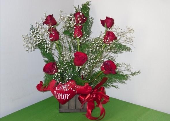 Arranjos florais para o dia dos namorados 002