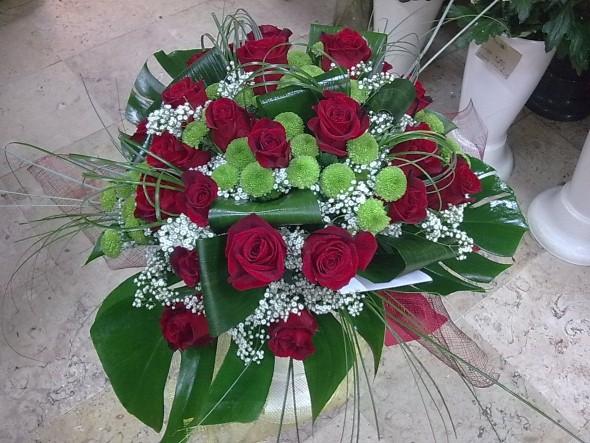 Arranjos florais para o dia dos namorados 012
