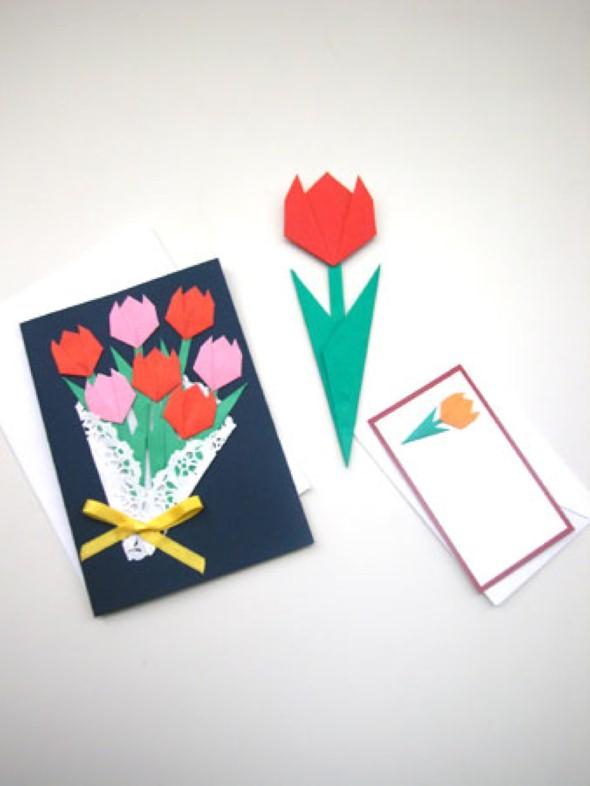Cartão artesanal para o Dia das Mães 010