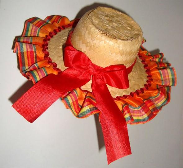 Chapéu de palha para Festa Junina – Dicas e modelos 08ba49f043a