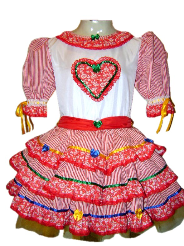 Customizar roupa para as Festas Juninas 006