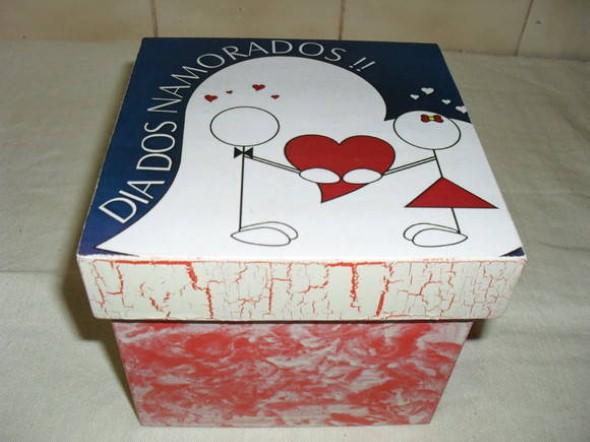 Embalagem artesanal para o Dia dos Namorados 011