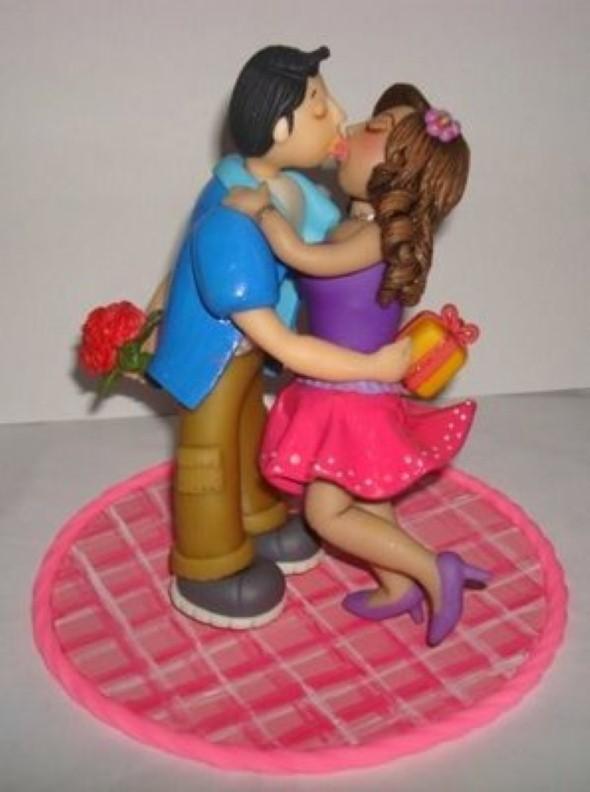 Lembrancinha do Dia dos Namorados em Biscuit 010