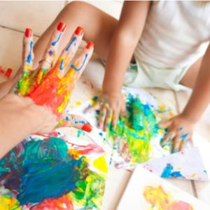 Como fazer tinta para crianças 001
