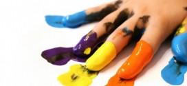 Como fazer tinta para crianças