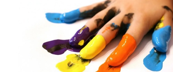 Como fazer tinta para crianças 003