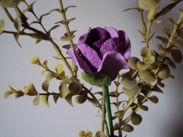 Flores de caixa de ovos 009