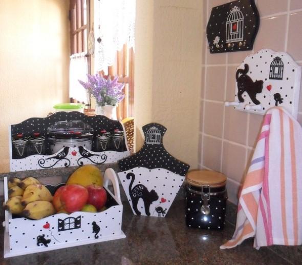 Artesanato criativo na cozinha 003