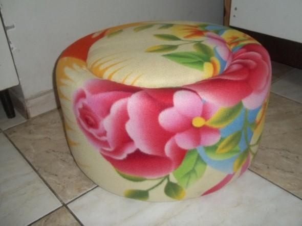 Puff artesanal 002